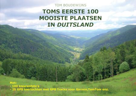 Cover Toms eerste 100 mooiste plaatsen in Duitsland