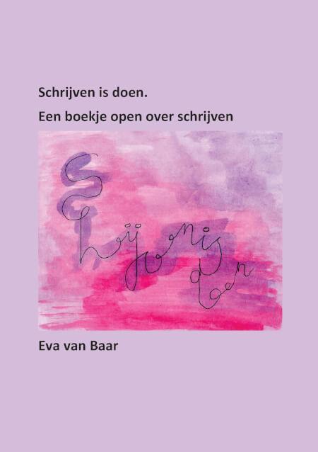 Cover Schrijfboek Schrijven is doen