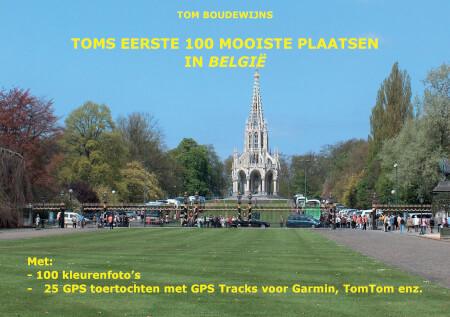 Cover Toms eerste 100 mooiste plaatsen in België