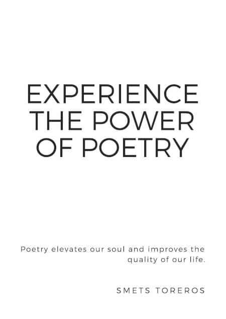 Cover Experience the power of Poetry