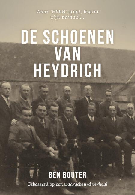 Cover De schoenen van Heydrich