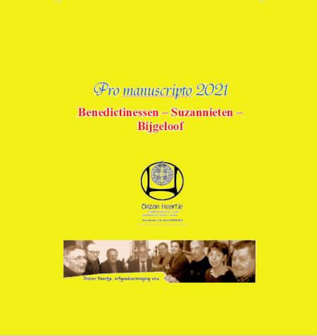 Cover Benedictinessen - Suzannieten -Bijgeloof
