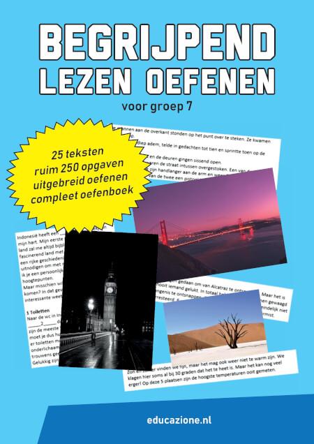 Cover Begrijpend Lezen Oefenen voor Groep 7
