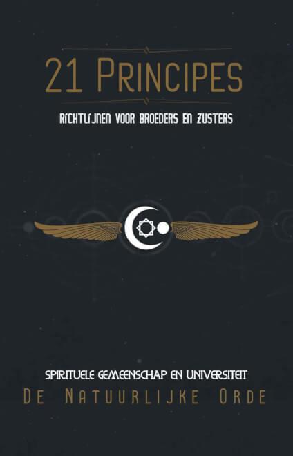Cover 21 Principes van De Natuurlijke Orde