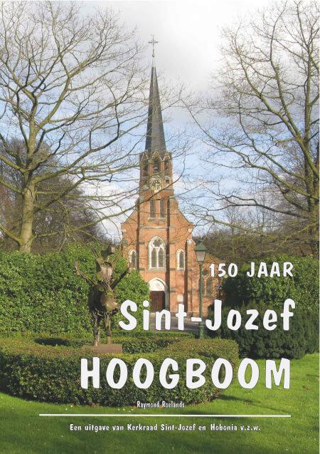 Cover 150 jaar Sint-Jozef Hoogboom - Paperback