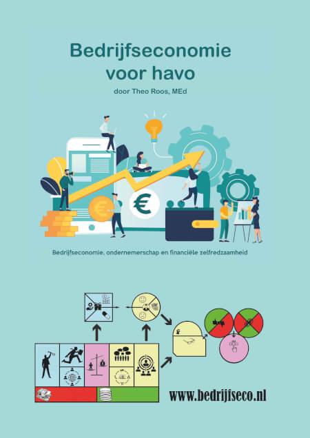 Cover Bedrijfseconomie voor havo