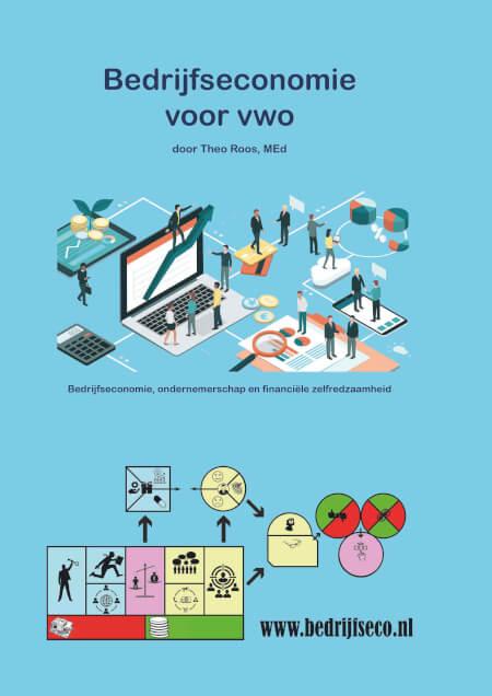 Cover Bedrijfseconomie voor vwo