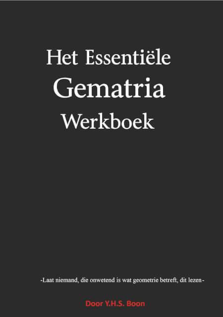 Cover Het Essentiële Gematria Werkboek