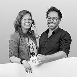 Expert Karel Geboers en Linda van de Kerkhof