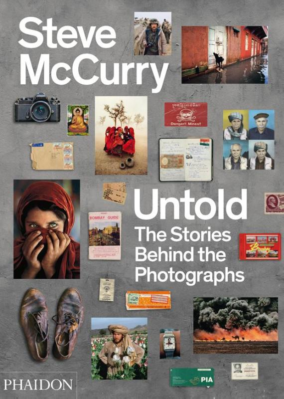 Cover Steve McCurry Untold