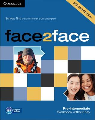 Cover face2face Pre-intermediate Workbook without Key