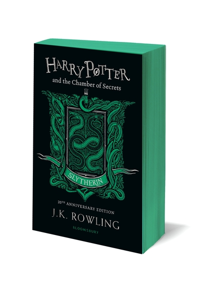 Cover Harry Potter and the Chamber of Secrets - Slytherin Edition