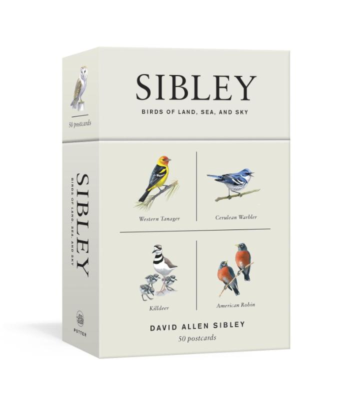 Cover Sibley Birds of Land, Sea, and Sky