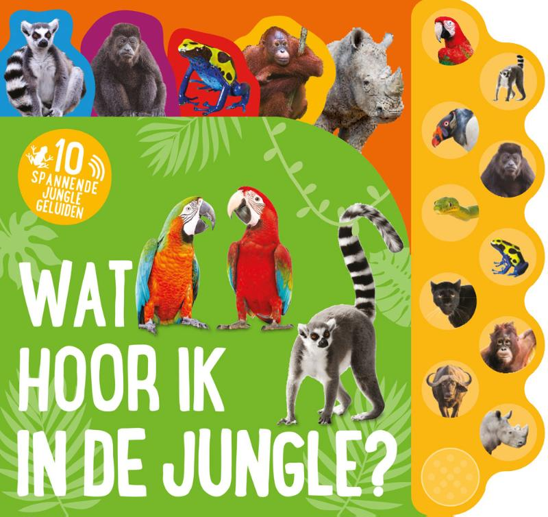 Cover Wat hoor ik in de jungle?