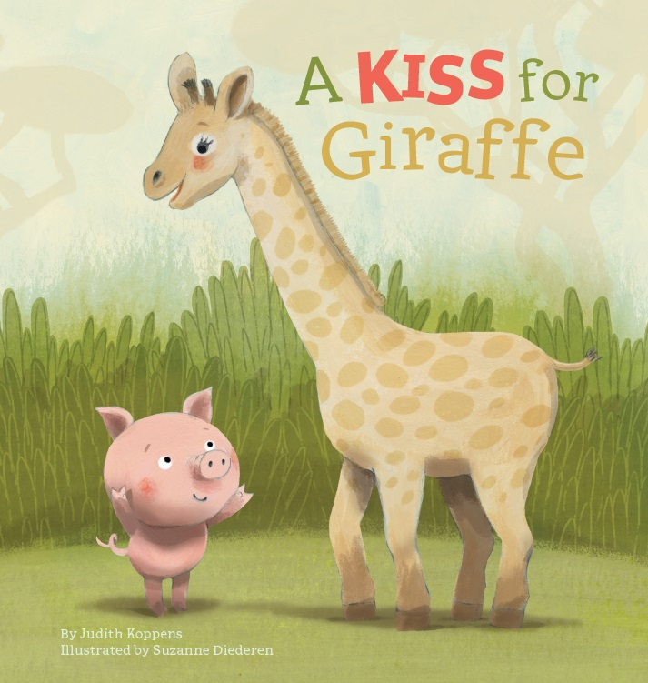 Cover A Kiss for Giraffe