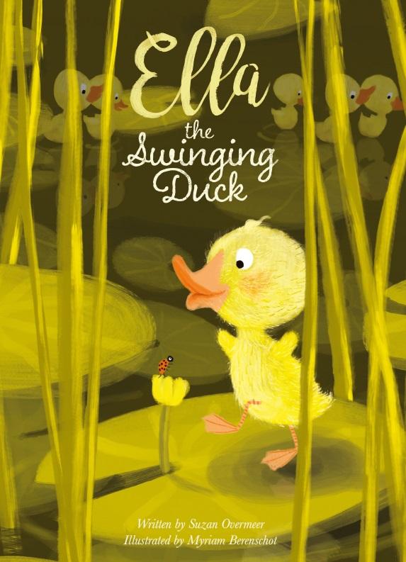 Cover Ella the swinging duck
