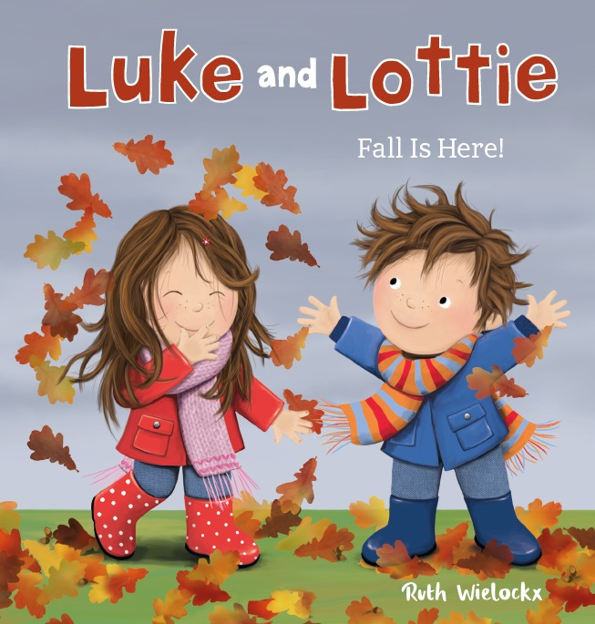 Cover Luke and Lottie. Fall is here!