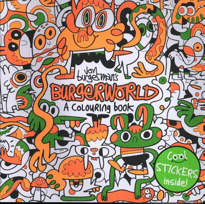 Cover Jon Burgerman's Burgerworld