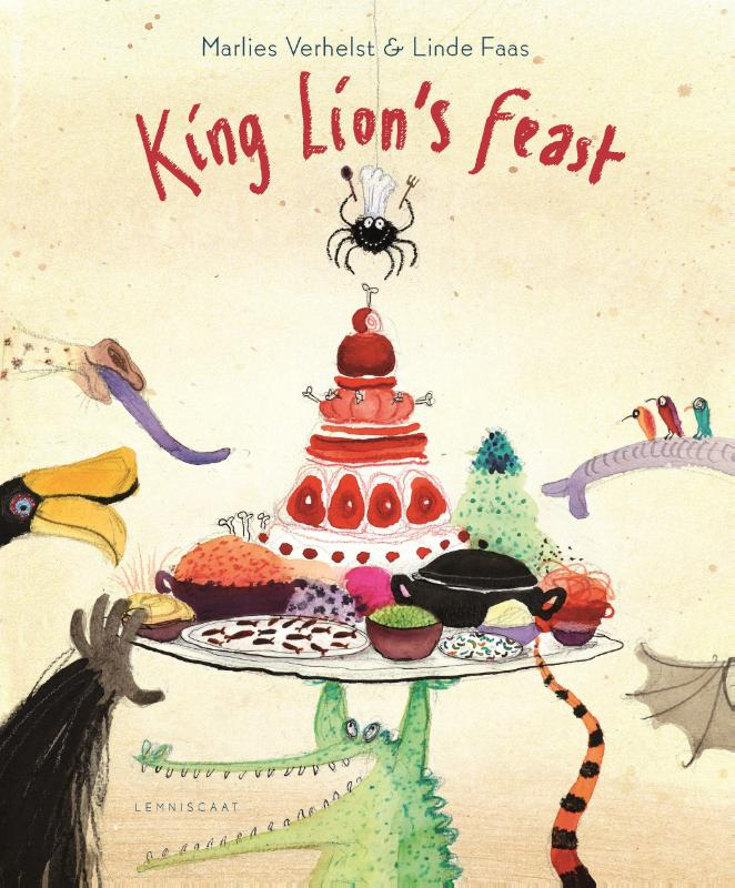 Cover King lions feast