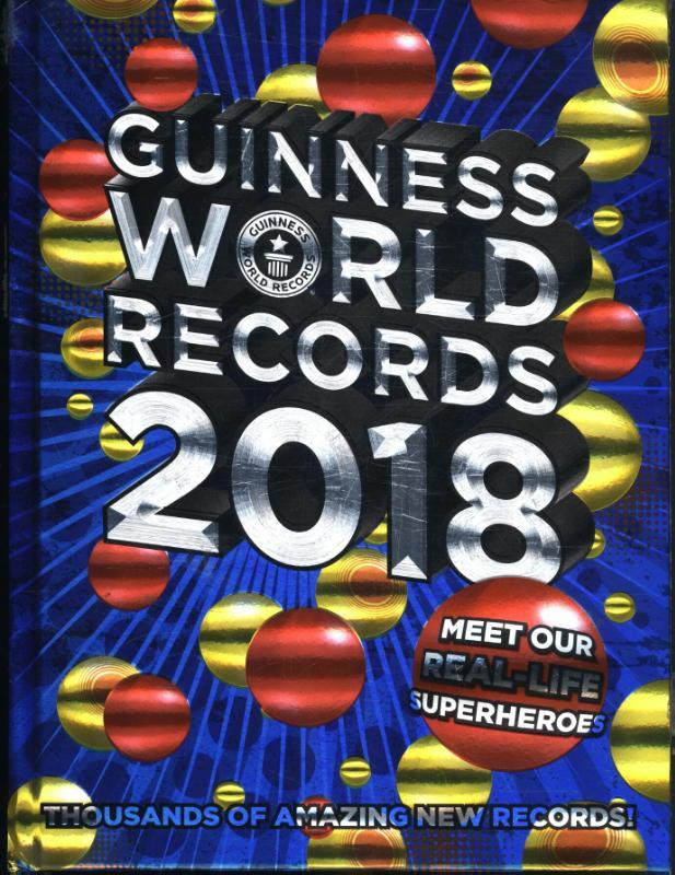 boek guinness world records 2018 geschreven door n b. Black Bedroom Furniture Sets. Home Design Ideas