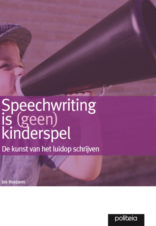 Cover Speechwriting is geen kinderspel