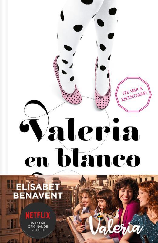 Cover Valeria en blanco y negro (Saga Valeria 3)