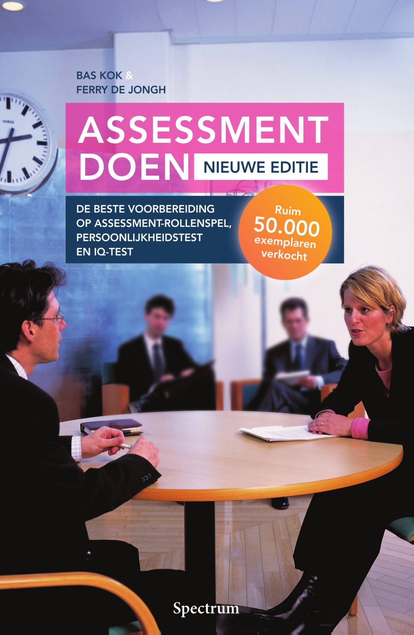 Cover Assessment doen - nieuwe editie