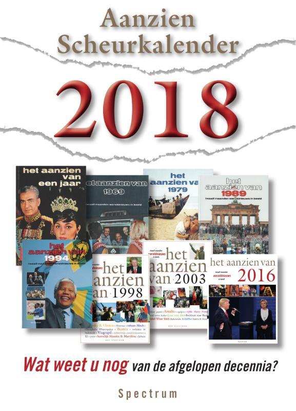 Cover Aanzien Scheurkalender 2018