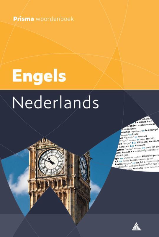 Cover Prisma woordenboek Engels-Nederlands