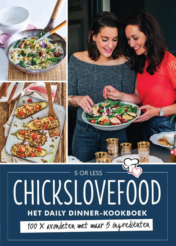 Cover Chickslovefood - Het daily dinner-kookboek