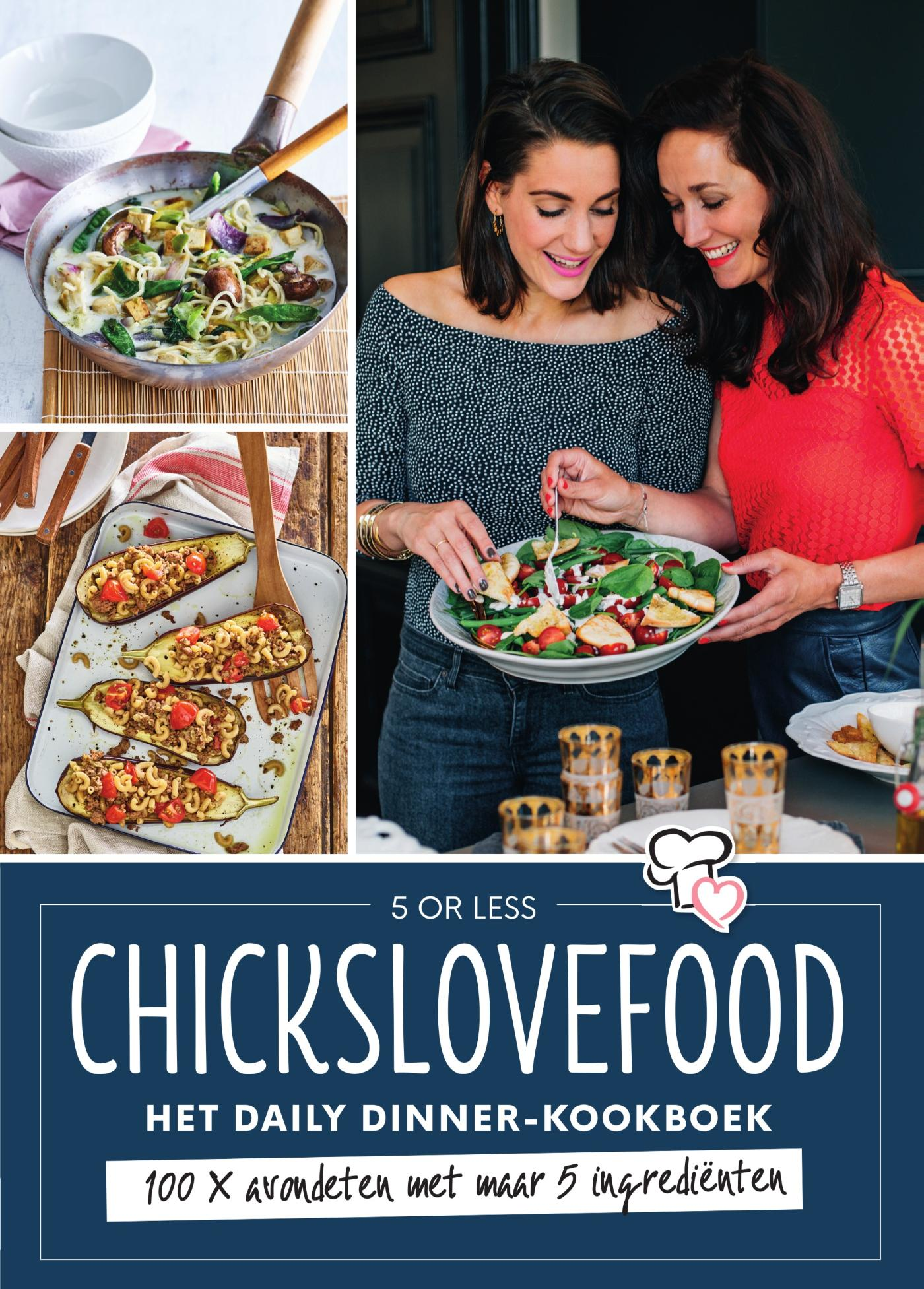Cover Chickslovefood - Het daily dinner-kookboek