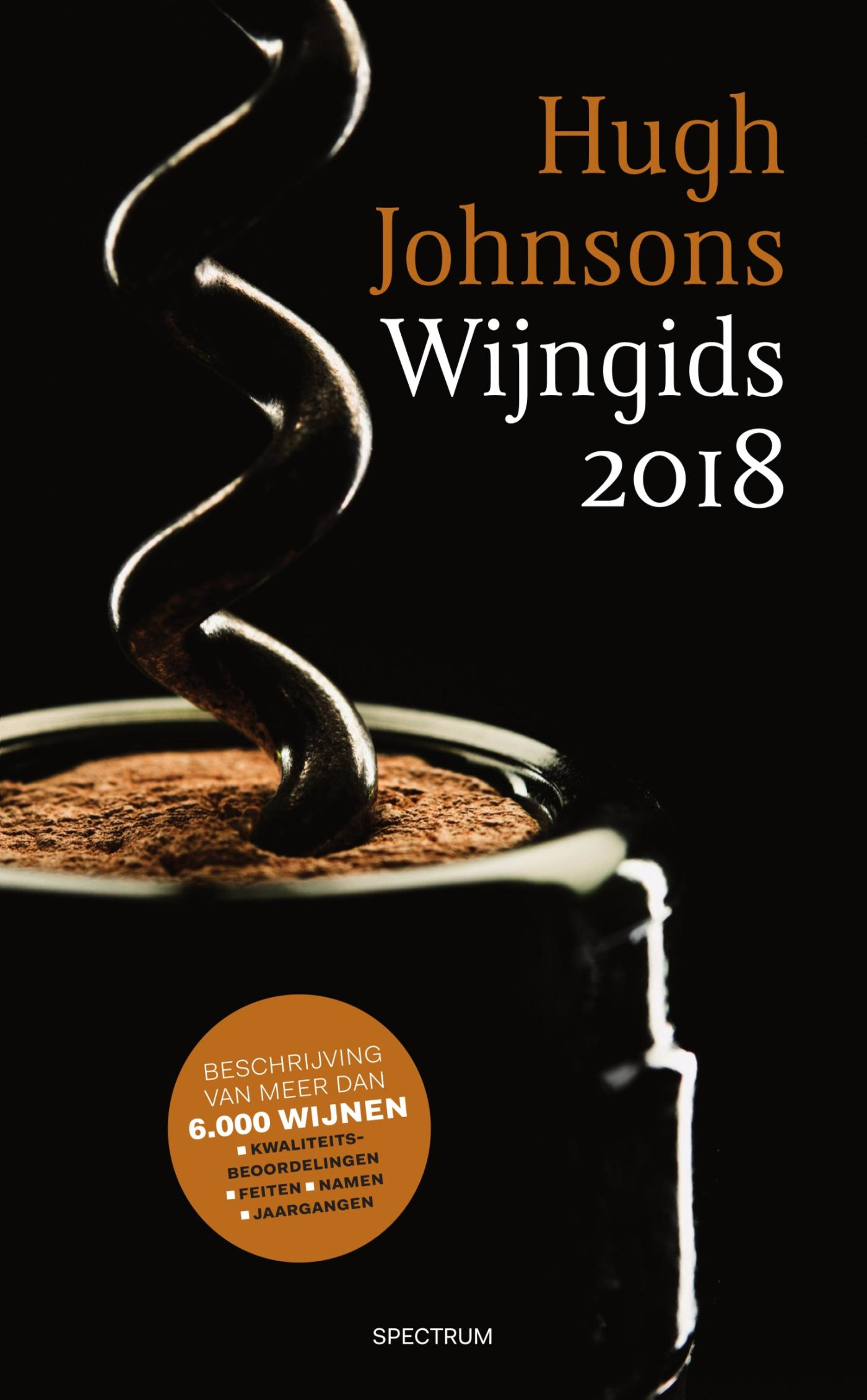 Cover Hugh Johnsons Wijngids 2018