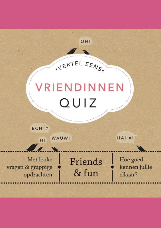 Cover Vertel Eens Vriendinnen Quiz