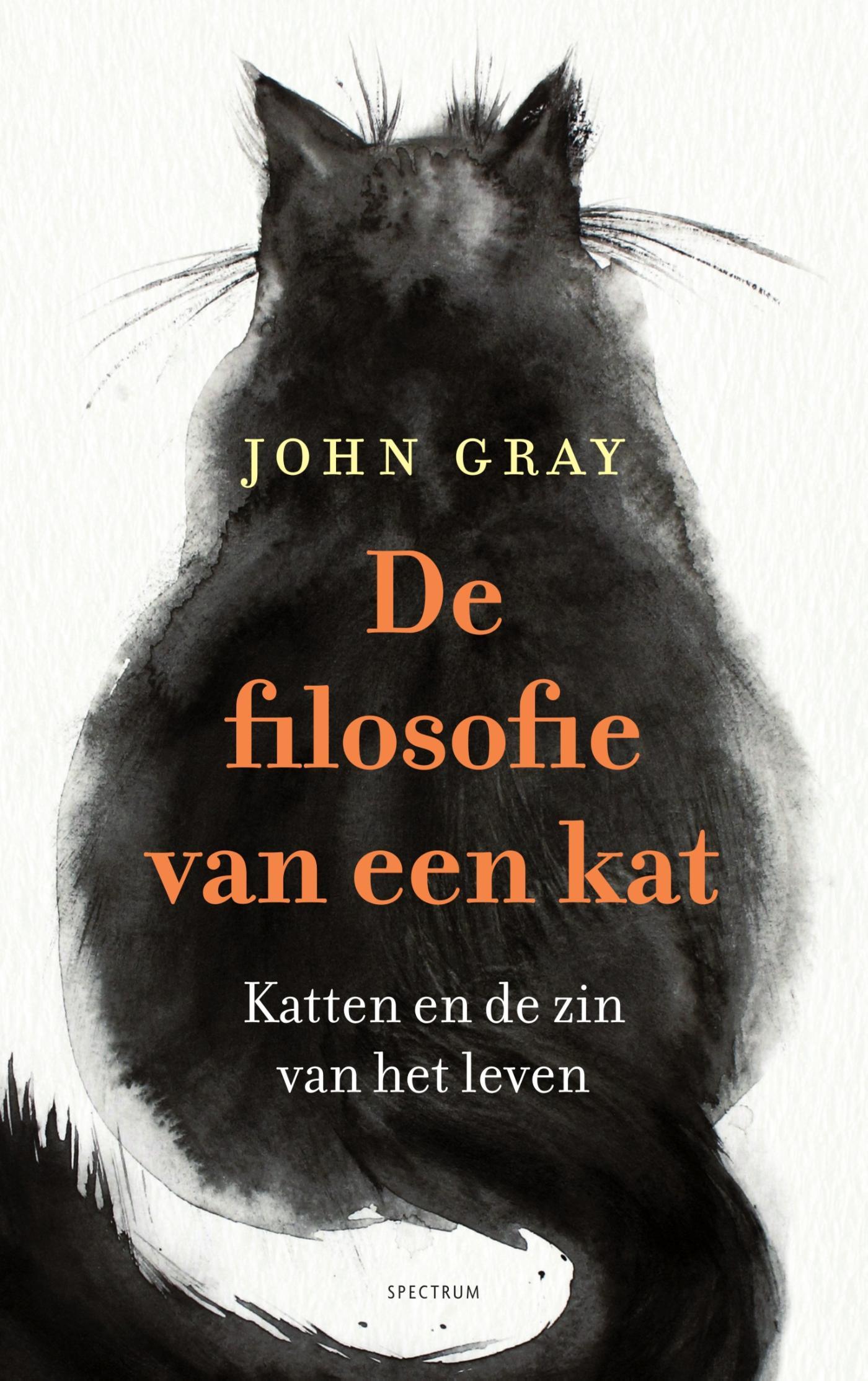 Cover De filosofie van een kat