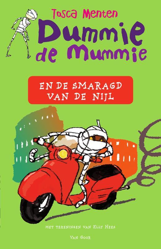 Cover Dummie de mummie en de smaragd van de Nijl