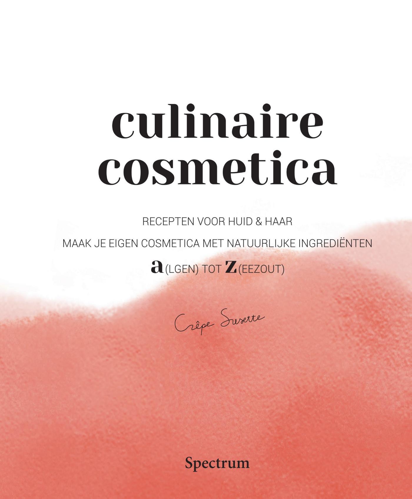 Cover Culinaire Cosmetica