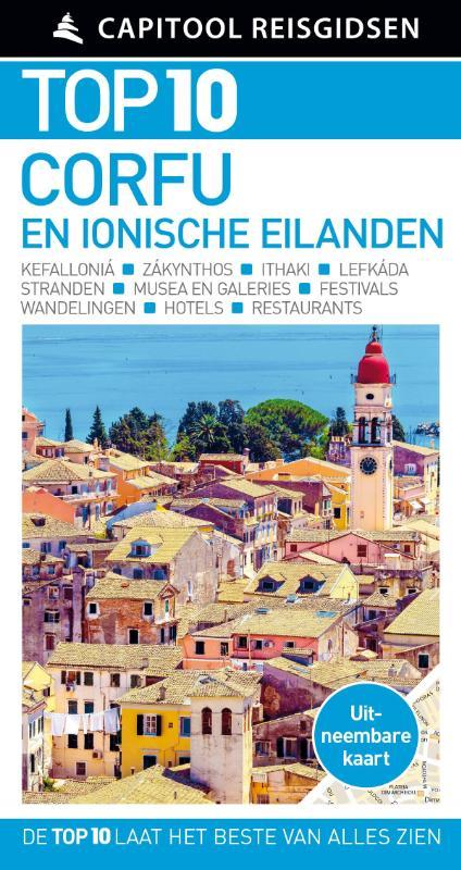 Cover Capitool Top 10 Corfu en de Ionische eilanden