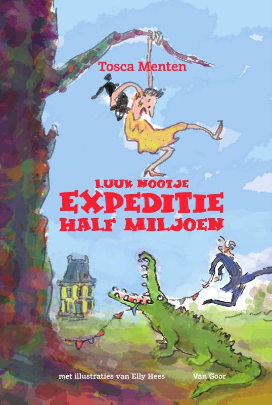 Cover Luuk Nootje - Expeditie Half Miljoen