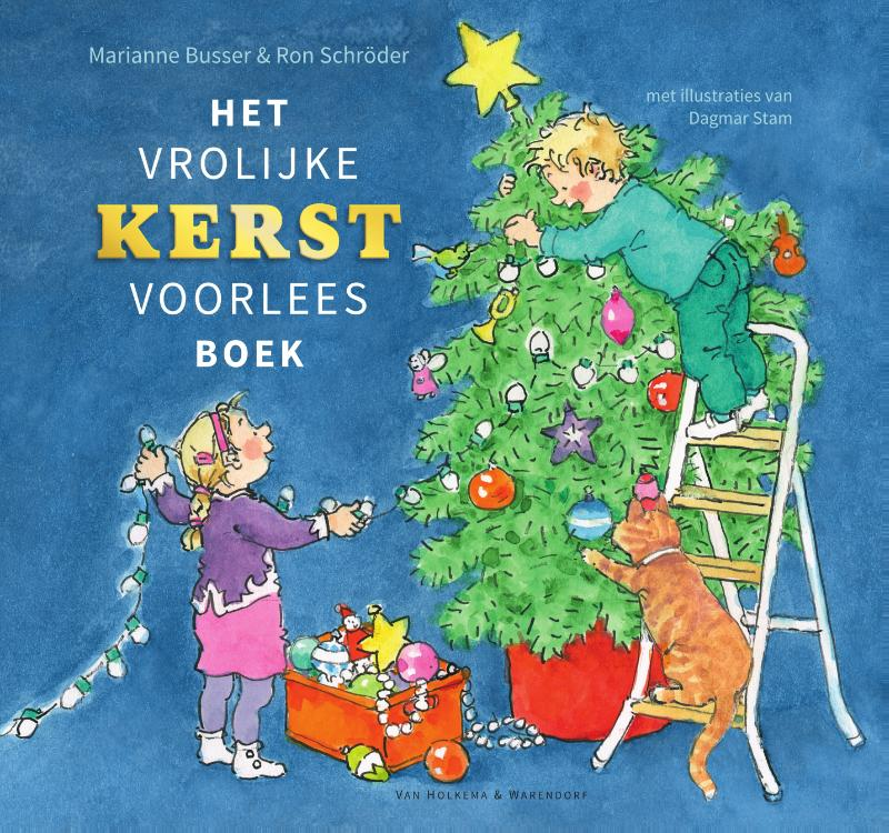 Cover Het vrolijke kerstvoorleesboek