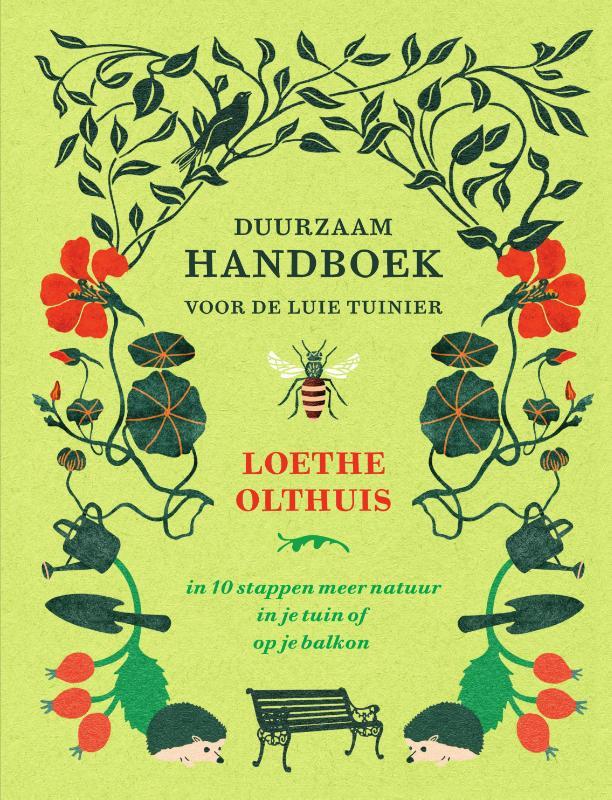 Cover Duurzaam handboek voor de luie tuinier