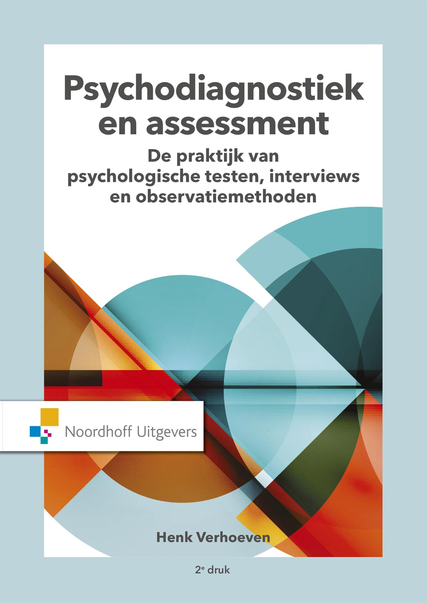 Cover Psychodiagnostiek en assessment (e-book)