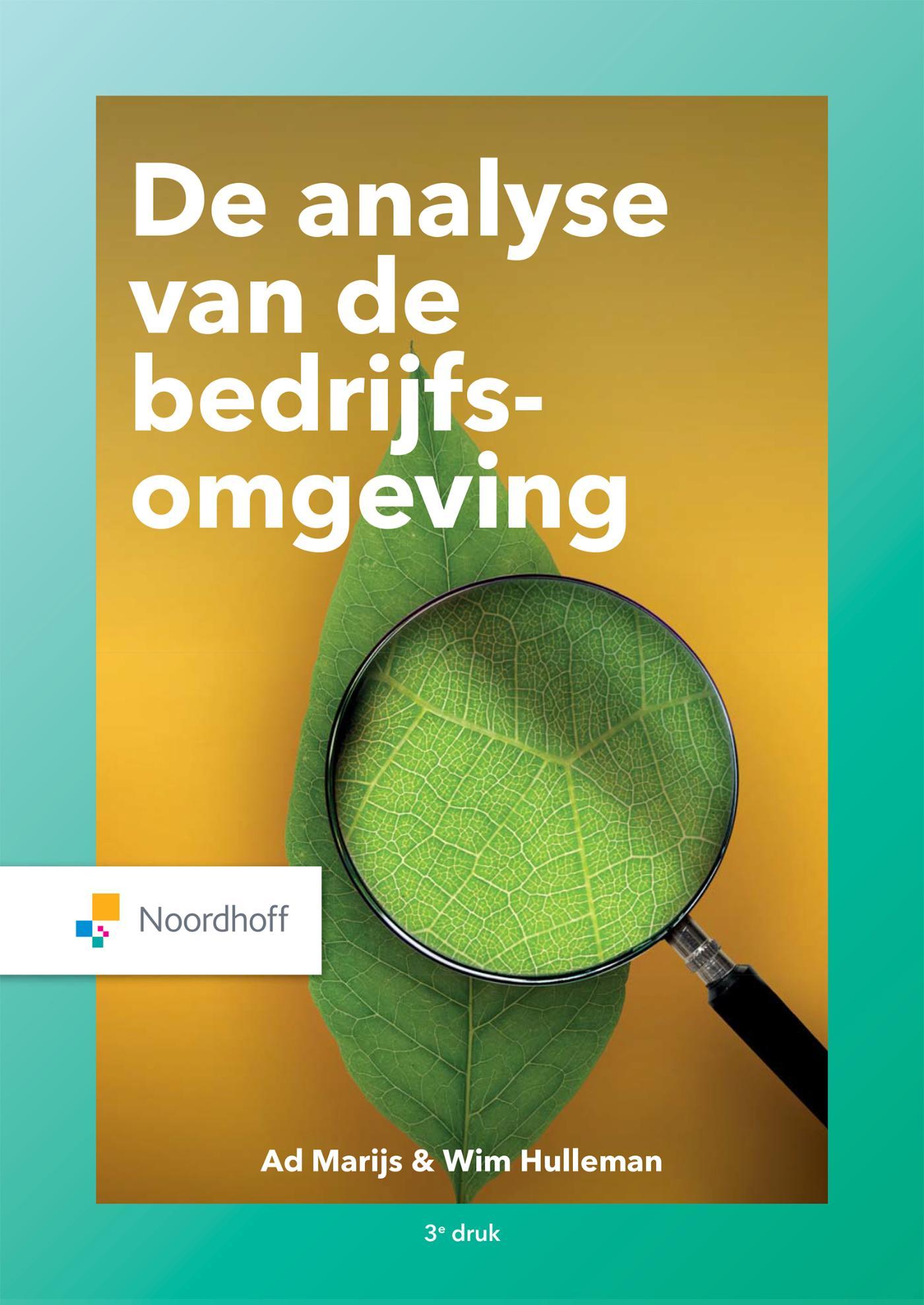 Cover Analyse van de bedrijfsomgeving