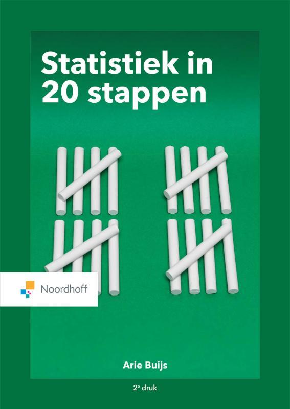 Cover Statistiek in 20 stappen