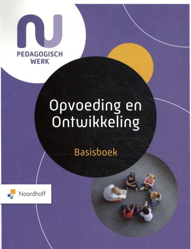 Cover Basisboek Opvoeding en Ontwikkeling Leerboek