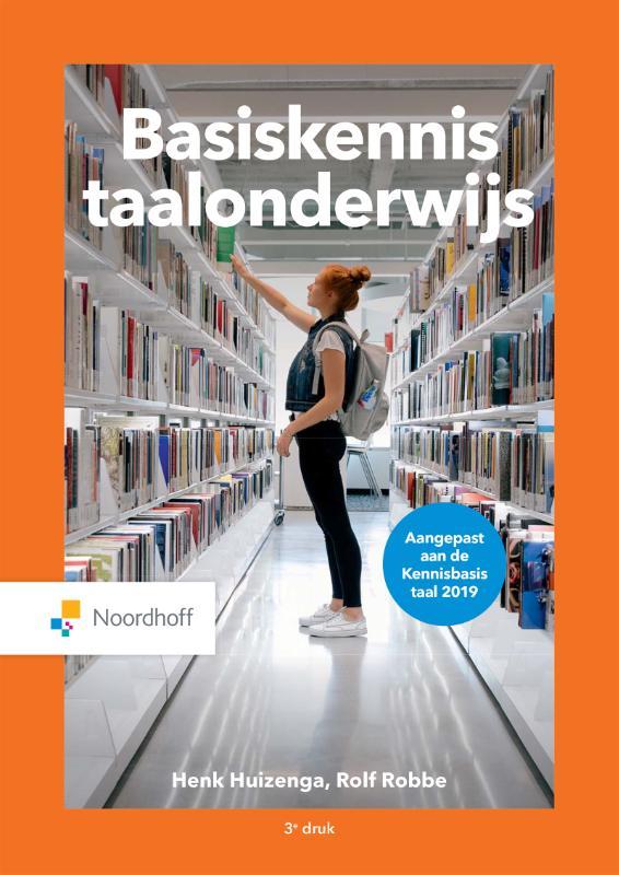 Cover Basiskennis taalonderwijs