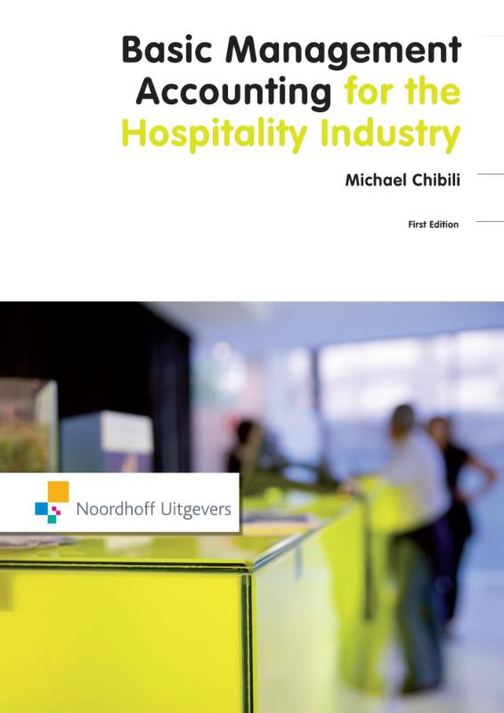 Cover Basic management accounting for the hospitality industry