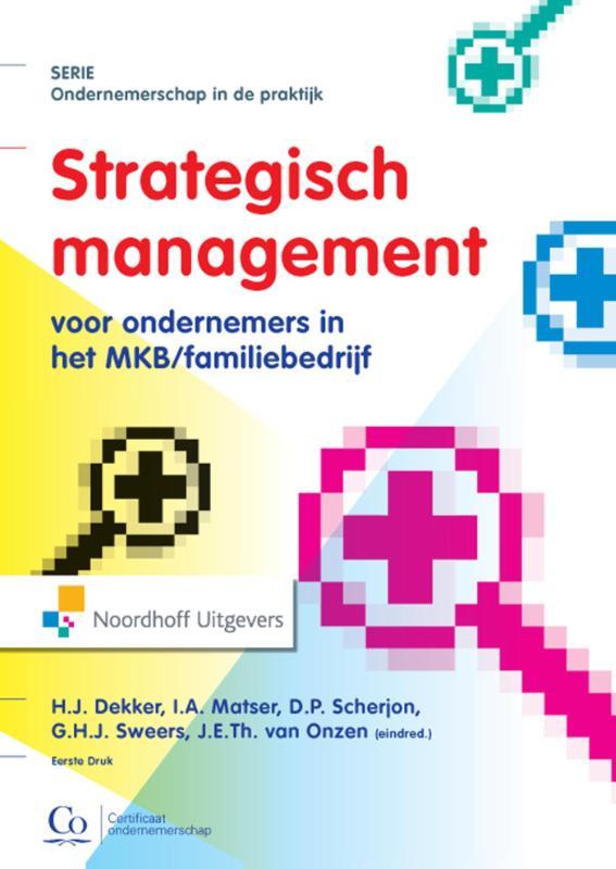 Cover Strategisch management voor ondernemers in het MKB/familiebedrijf