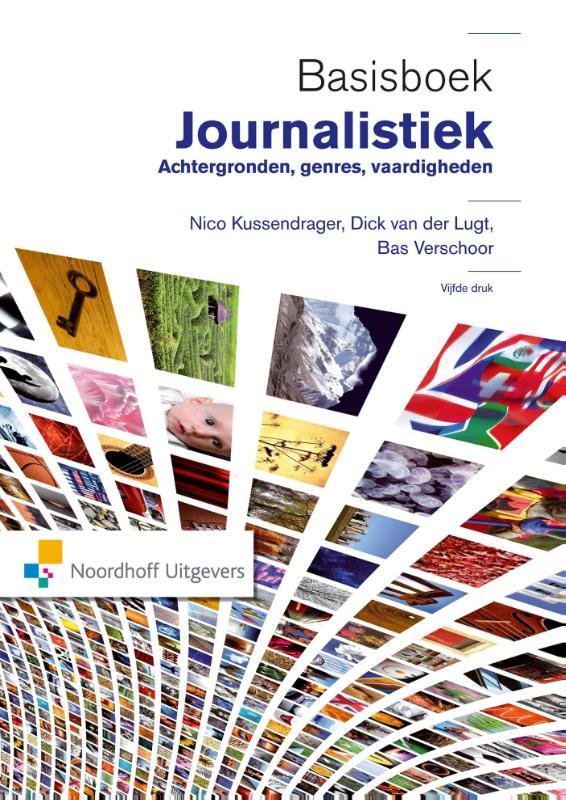 Cover Basisboek Journalistiek