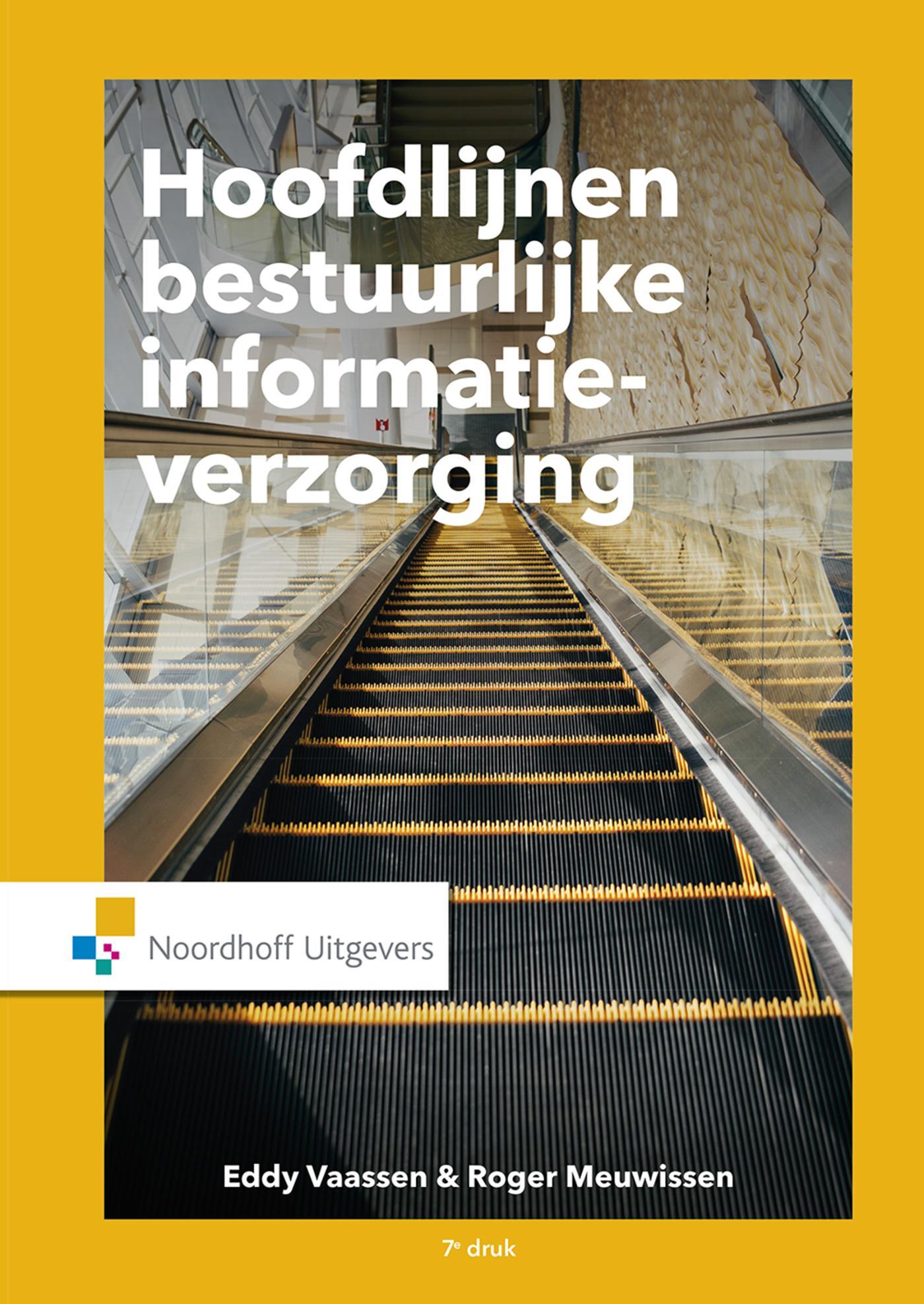 Cover Hoofdlijnen bestuurlijke informatieverzorging