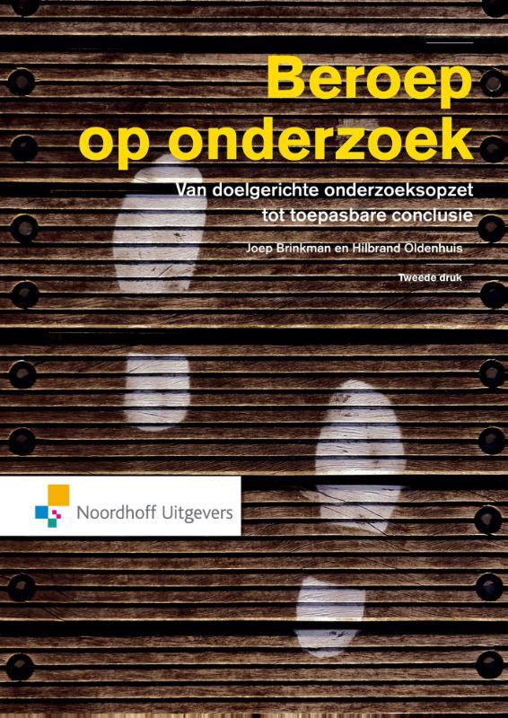 Cover Beroep op onderzoek